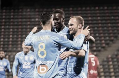 Imparável, Olympique de Marseille mantém ótima sequência na Ligue 1 e vence Nîmes