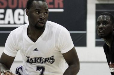 Landry cierra el equipo de los Lakers. (Foto: sbnation).