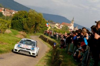 Latvala en route vers son premier succès sur l'asphalte ? (Volkswagen)