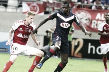 Bordeaux tropeça contra o Reims e perde chance de assumir a liderança da Ligue 1