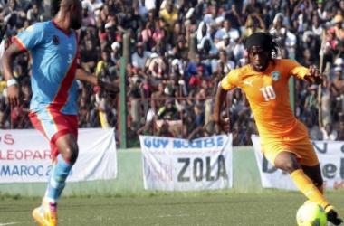 Gervinho face aux Léopards de la RD Congo