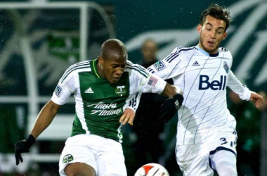 Another chapter in the historic Cascade Rivalry between the Portland Timbers and the Vancouver Whitecaps FC will be unfolded on Sunday at Providence Park in Major League Soccer Western Conference Semifinals. Photo provided by Craig Mitchelldyer-USA TODAY