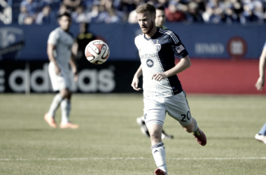 Oriol Rosell duringhis spell with SKC. | Photo: Eric Bolte-USA TODAY Sports