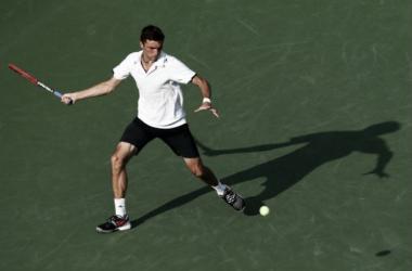 Simon, en su duelo ante Berankis (Foto: Livetennis).