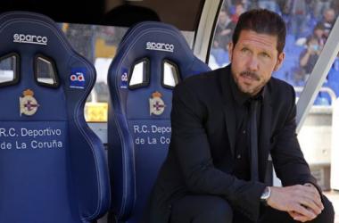"Simeone, cauteloso: ""No es un paso definitivo"""
