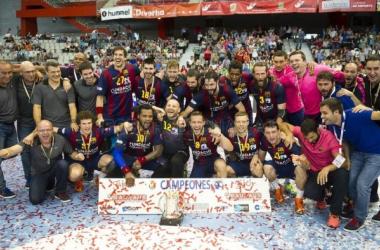 Barcelona - Ademar y Anaitasuna - Naturhouse, semifinales de la Copa del Rey