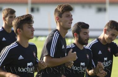 """Fernando Rubio: """"Me voy a dejar todo en cada entrenamiento para formar parte del primer equipo"""""""