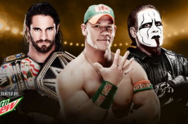 2015 WWE Night Of Champions Play by Play and Results