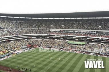 El Estadio Azteca recibirá una vez más un juego de NFL. (Foto: Alejandro Nava Aguayo | VAVEL México)