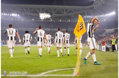 Bonucci celebrando un gol en un partido de la Juventus | Foto: Juventus FC