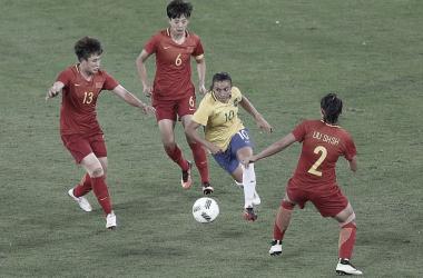 Gols e melhores momentos China x Brasil pelas Olimpíadas de Tóquio (0-5)