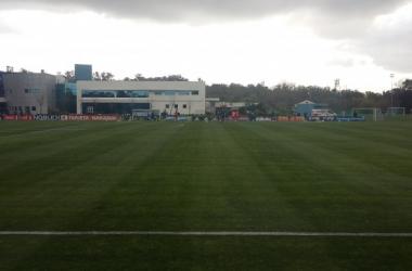 Argentina comenzó las prácticas con Bauza al frente y sin de Messi | Foto: Huaman Sosa, VAVEL
