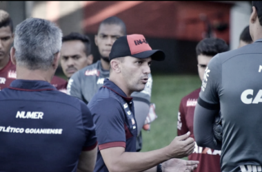 Foto:(Paulo Marcos/Atlético-GO)