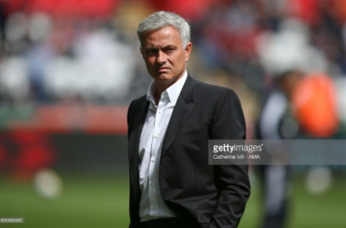 Mourinho is in his second season with United (Photo: Catherine Ivill/ AMA)