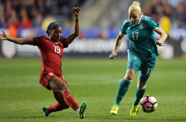 Crystal Dunn vs Germany | Photo: Isabel Kerschowski: Zimbio