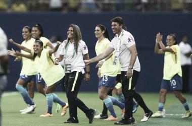 Seleção possui seis jogos e seis vitórias sob comando de Emily Lima (Foto: Lucas Figueiredo/CBF)