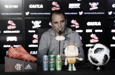 """Rodrigo Caetano analisa saída do Flamengo e revela: """"O foco sempre foi a Libertadores"""""""