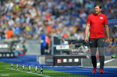 Ralph Hasenhüttl steps down as RB Leipzig coach
