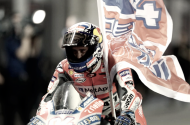 La noche de Qatar le da la victoria a Andrea Dovizioso
