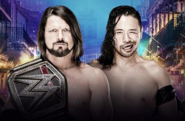 AJ Styles vs Shinsuke Nakamura: el enfrentamiento de ensueño