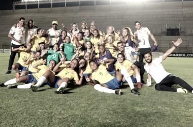 """É campeão! Brasil vence Sul-americano feminino sob comando de Luizão: """"Felicidade grande"""""""