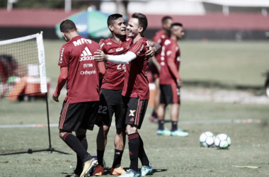 Sem Everton, Flamengo encerra preparação para estreia no Brasileiro