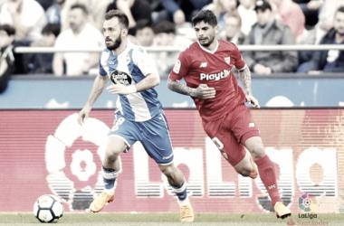Final de infarto y reparto de puntos entre Deportivo y Sevilla