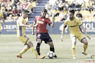 AD Alcorcón - CA Osasuna: puntuaciones Osasuna, jornada 36 de LaLiga 123
