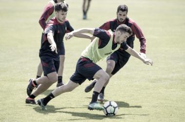 """Kike Barja: """"hay que ganar sí o sí"""""""