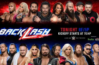 WWE Backlash starts 8PM EST / 5PM PT | Photo Credit: WWE.com