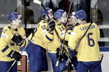 Suecia celebrando un gol |mundodeportivo.com