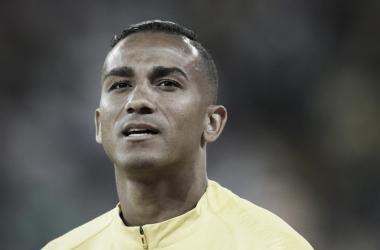 O lateral ainda não tem estimativa de retorno à equipe (Foto: André Mourão/ MoWA Press)