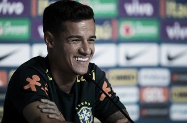 Camisa 11 marcou o gol do Brasil na estreia da Copa (Foto: Pedro Martins/MoWA Press)