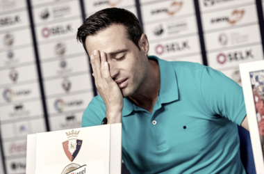 Javier Flaño se despide de Osasuna