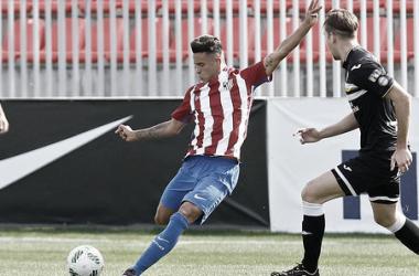 Juan Moreno durante su etapa en el Atlético de Madrid | Foto: Sport Cartagena