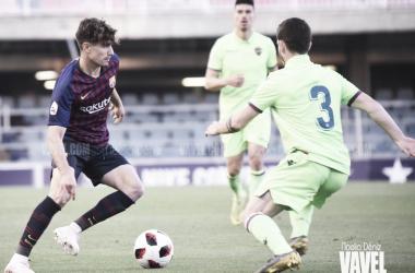 Álex Collado ante el Atlético Levante | Foto: Noelia Déniz (VAVEL)