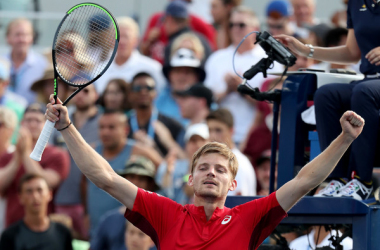 Goffin is no stranger to to the fourth round in Flushing Meadows (Image source: Zimbio/Getty Images North America)
