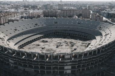 El Nou Mestalla: una historia de humo y promesas