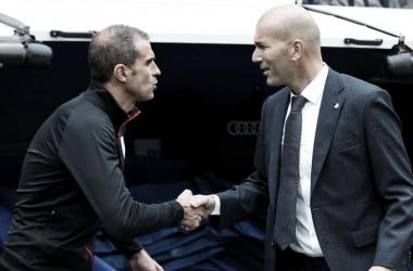 Duelo de banquillos: Zinedine Zidane vs Gaizka Garitano