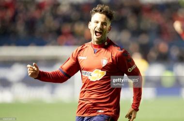 Ruben Garcia scores for Osasuna (Getty Images/NurPhoto)
