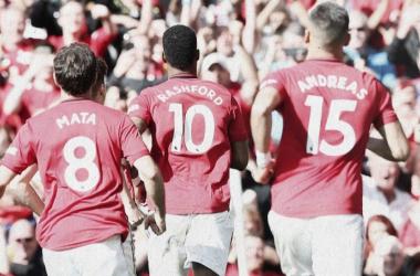Com gol Rashford, United vence Leicester em casa e cola na parte de cima da tabela