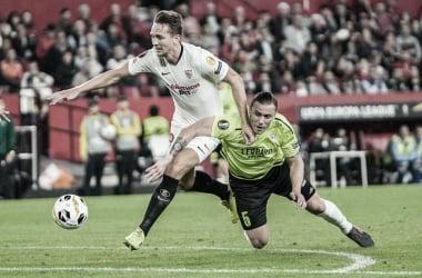 De Jong contra Dudelange en la pasada jornada | Foto: Sevilla FC