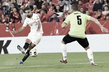 Dabbur ante Dudelange en Nervión | Foto: Sevilla FC