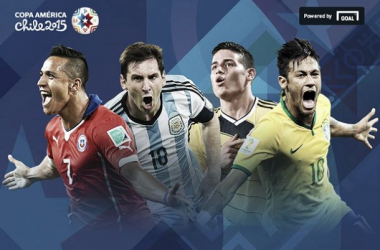 Quartos-de-final da Copa América 2015 analisados à lupa