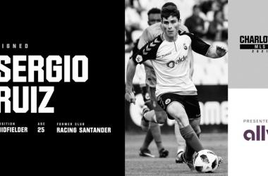 Sergio Ruíz es el primer jugador de Charlotte