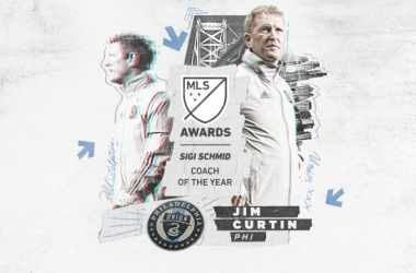 Jim Curtin, Sigi Schmid MLS Entrenador del Año 2020