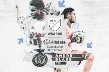 Andre Blake, MLS Portero del Año 2020