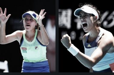 Australian Open: Final inédita entre Sofía Kenin y Garbiñe Muguruza