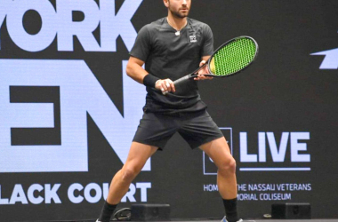 """ATP New York Open: Noah Rubin used """"momentum of the crowd"""" in first qualifying round victory"""