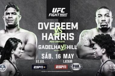 Overeem y Harris listos para la batalla
